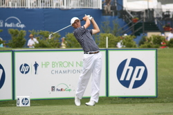Jordan Spieth at the 2010 HP Byron Nelson Championship.  Photo by George Walker for dfwsportsonline.com.